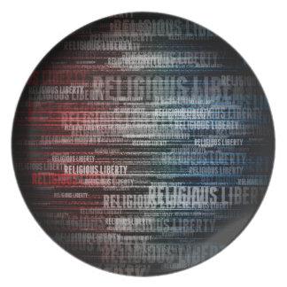 Religious Liberty Plate