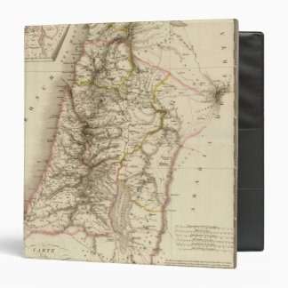 Religious Middle East atlas map 3 Ring Binder