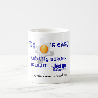 Religious 11 Oz Magic Heat Color-Changing Coffee Mug