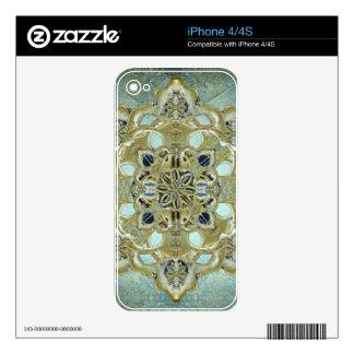 Religious Mystic Cross Skin For iPhone 4S