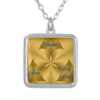 Religious necklace gift expressing Holy Trinity