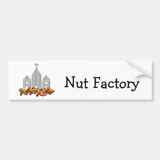 Religious Nuts Car Bumper Sticker