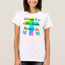 RELIGIOUS PERSONALIZED 80TH BIRTHDAY DESIGN T-Shirt