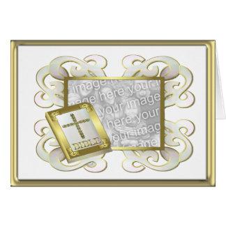 Religious Photo Frame Card