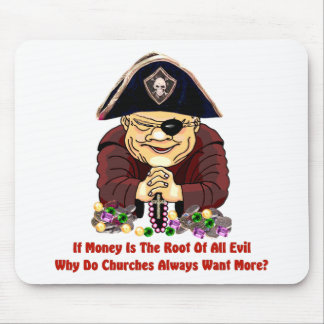 Religious Pirate Mouse Pad