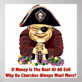 Religious Pirate Poster