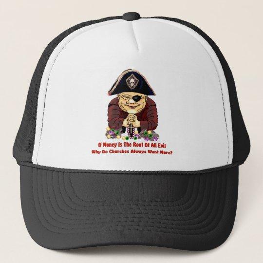 Religious Pirate Trucker Hat