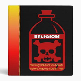 Religious Poison Vinyl Binders