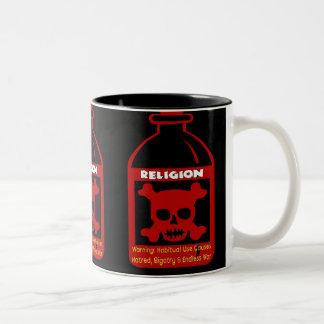 Religious Poison Two-Tone Coffee Mug
