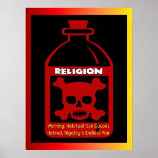 Religious Poison Poster