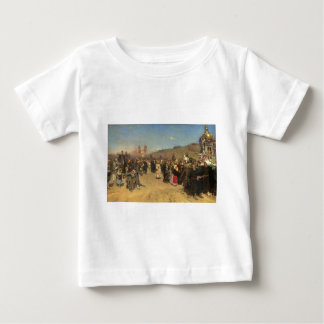 Religious Procession in Kursk Province Baby T-Shirt