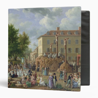 Religious Procession to Mont Valerien, 1819 3 Ring Binder