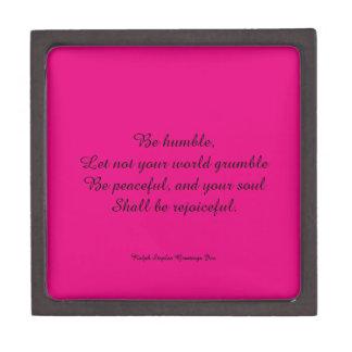 Religious quote gift box