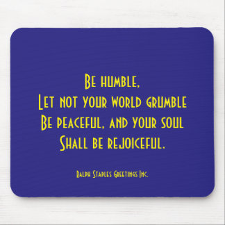 Religious quote mouse pad