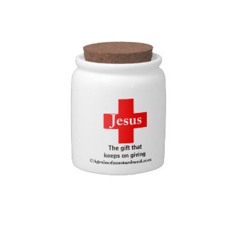 Religious Quotes Candy Dish