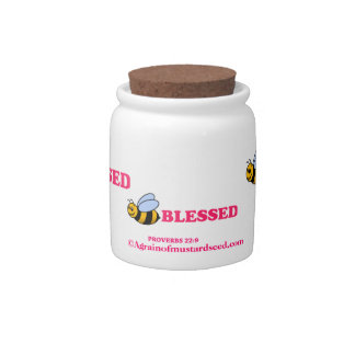 Religious Quotes Candy Jars