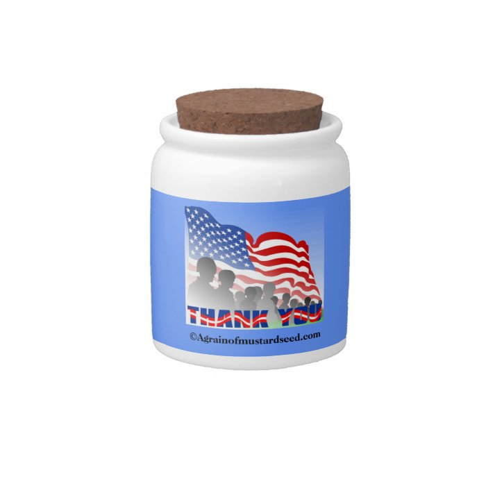 Religious Quotes Candy Jar