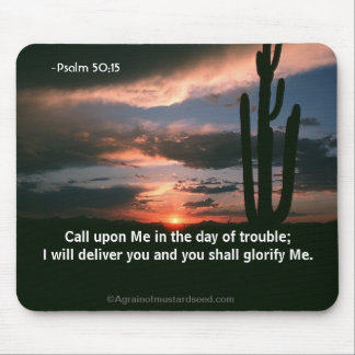 Religious Quotes Mouse Pad