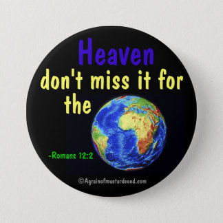 Religious Qutoes Pinback Button