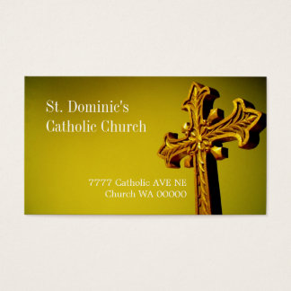 Religious Religion Catholic Church St. Business Card