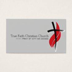 Religious Religion Christian Pastor Christianity Business Card at Zazzle