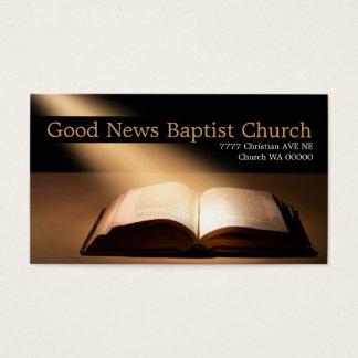 Religious Religion Christian Pastor Christianity Business Card