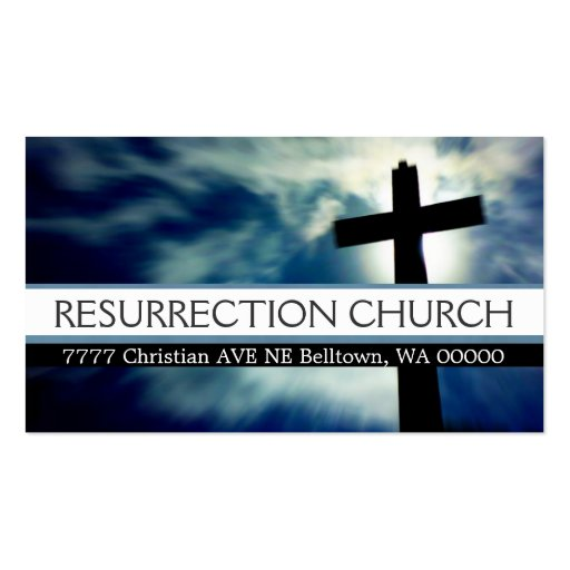 Religious business cards business card templates for Church business cards templates free