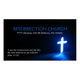 Religious Religion Christian Pastor Christianity Business Card Templates