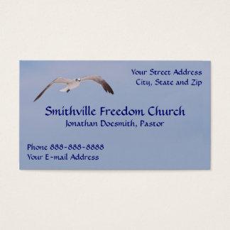 Religious Religion Sea Gull Business Card