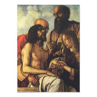Religious Renaissance, Pieta by Giovanni Bellini Card