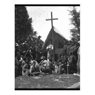 Religious services_War Image Postcard