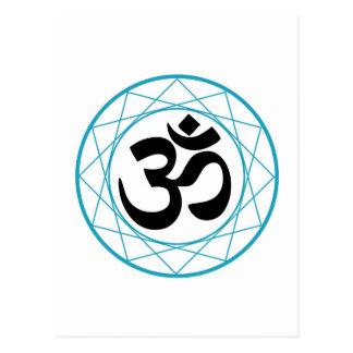 Religious Symbol of Hinduism- Pranava Postcard