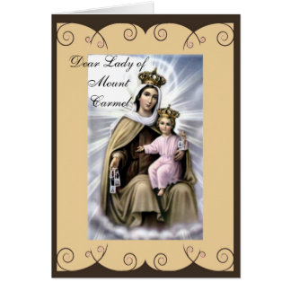 Religious sympathy or encouragement greeting card