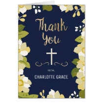 Religious Thank You Note (Confirmation, Communion)