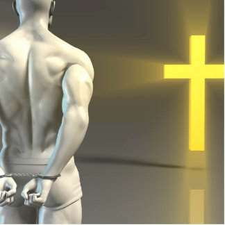 Religious Transformation to Christianity Cutout