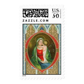 Religious Vintage Christmas Stamps