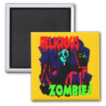 Religious Zombies Magnets