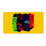 Religious Zombies Personalized Shipping Labels