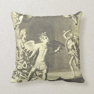 religous bizarre 2 throw pillow