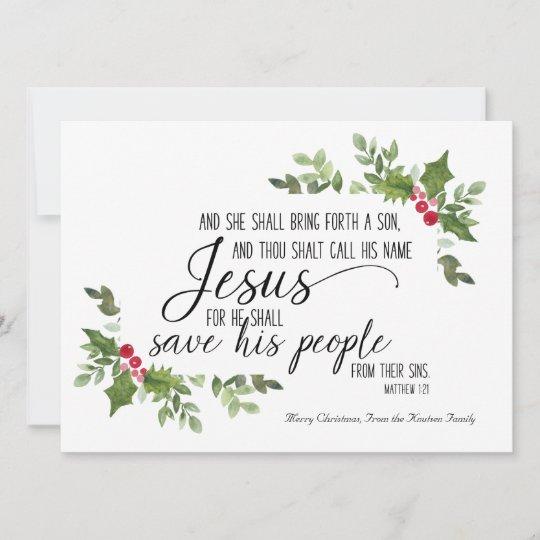 religous christmas card kjv bible verse com