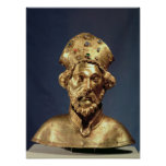 Reliquary bust of St. John Cassian Posters