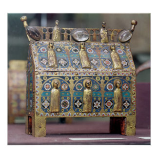 Reliquary Chasse, Limoges, c.1200-50 Poster
