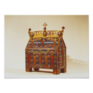 Reliquary chest, 12th-13th century poster