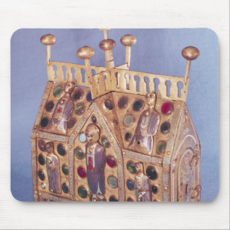 Reliquary chest in the form of a house, Limousin Mouse Pad