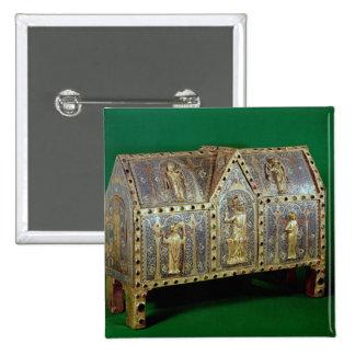 Reliquary chest of St. Calminius, Limoges Button