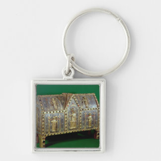 Reliquary chest of St. Calminius, Limoges Keychain