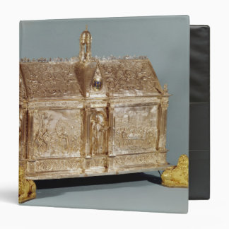 Reliquary chest of St. Macairius  of Ghent, 1616 3 Ring Binder