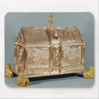 Reliquary chest of St. Macairius  of Ghent, 1616 Mouse Pad