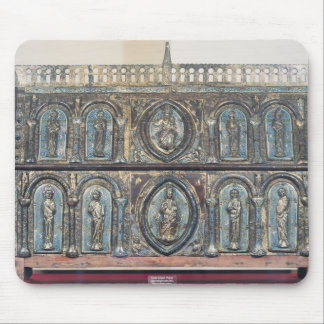 Reliquary chest of St. Viance, Limousin School Mouse Pad
