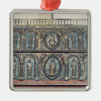 Reliquary chest of St. Viance, Limousin School Christmas Tree Ornament